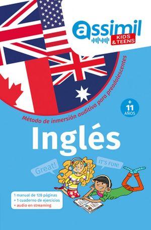 Inglés. Método de inmersión auditiva para preadolescentes (+11 años)