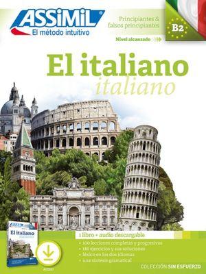 Paquete El italiano. Libro + audio descargable (Principiantes y falsos principiantes. B2)