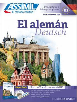 SUPERPACK EL ALEMAN. PRINCIPIANTES Y FALSOS PRINCIPIANTES B2 (INCLUYE LIBRO + CD + USB)