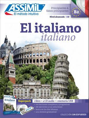 SUPERPACK EL ITALIANO. PRINCIPIANTES Y FALSOS PRINCIPIANTES B2 (INCLUYE LIBRO + CD + USB)