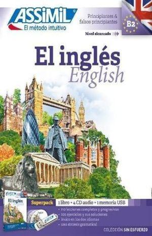 SUPERPACK EL INGLES. PRINCIPIANTES Y FALSOS PRINCIPIANTES B2 (INCLUYE LIBRO + CD + USB)