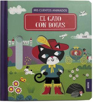 El gato con botas. Mis cuentos animados / pd.