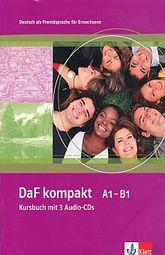 DAF KOMPAKT A1 B1 KURSBUCH (INCLUYE 3 CD)