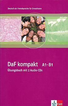 DAF KOMPAKT A1 B1 UBUNGUSBUCH (INCLUYE 2 CD)