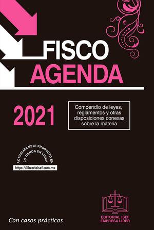 Fisco Agenda 2021 / pd. / 57 ed. (edición especial / rosa)