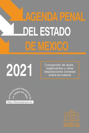 Agenda Penal del Estado de México 2021 / 35 ed.