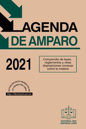 Agenda de Amparo 2021 / 44 ed.
