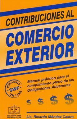 CONTRIBUCIONES AL COMERCIO EXTERIOR