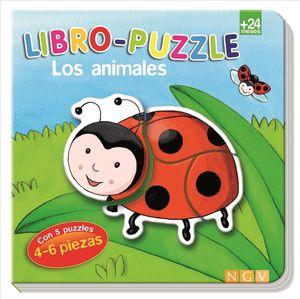LIBRO PUZZLE LOS ANIMALES