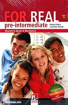 FOR REAL PRE INTERMEDIATE STUDENTS BOOK AND WORKBOOK (MULTIMEDIA PACK)