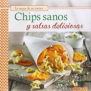 Chips sanos y salsas deliciosas