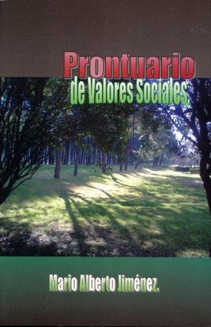 PRONTUARIO DE VALORES SOCIALES