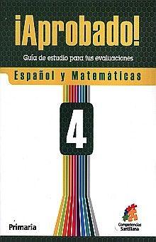 APROBADO 4 ESPAÑOL Y MATEMATICAS. PRIMARIA