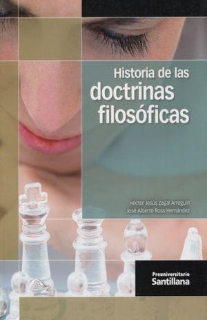 HISTORIA DE LAS DOCTRINAS FILOSOFICAS. PREUNIVERSITARIO BACHILLERATO