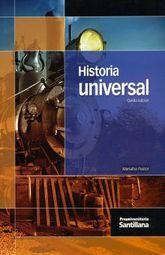 HISTORIA UNIVERSAL. PREUNIVERSITARIO BACHILLERATO / 5 ED.