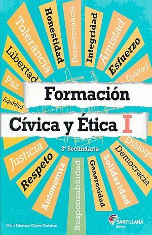 FORMACION CIVICA Y ETICA 1. SEGUNDO GRADO. SECUNDARIA. ATENEO