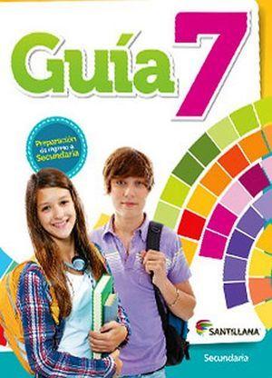 Guía 7 Libro de ejercicios para el alumno. Primaria