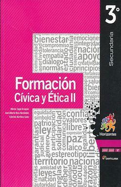 FORMACION CIVICA Y ETICA 2 HORIZONTES TERCER GRADO SECUNDARIA