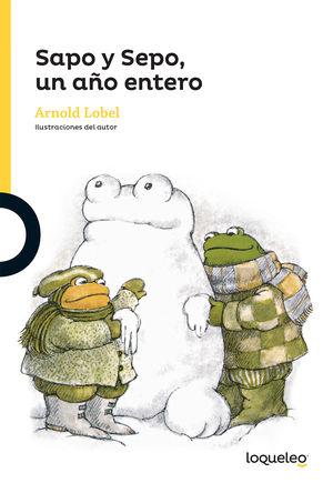 SAPO Y SEPO UN AÑO ENTERO / 2 ED.
