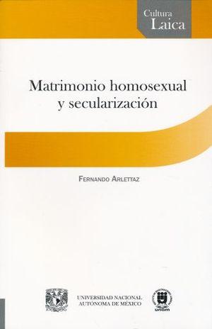 MATRIMONIO HOMOSEXUAL Y SECULARIZACION