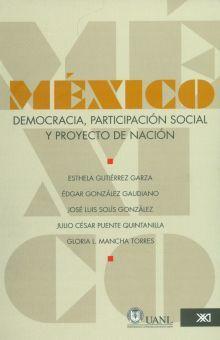 MEXICO DEMOCRACIA PARTICIPACION SOCIAL Y PROYECTO DE NACION