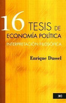 16 TESIS DE ECONOMIA POLITICA
