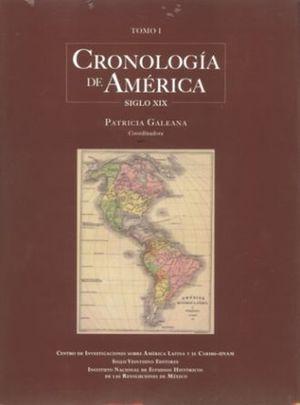 CRONOLOGIA DE LAS AMERICAS SIGLO XX / TOMO 1