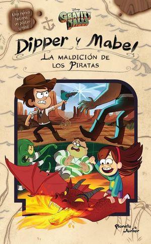 GRAVITY FALLS. DIPPER Y MABEL. LA MALDICION DE LOS PIRATAS