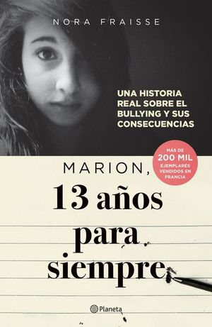 MARION 13 AÑOS PARA SIEMPRE