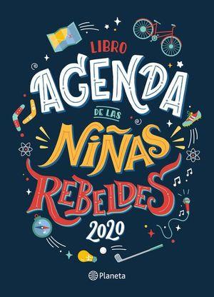 LIBRO AGENDA NIÑAS REBELDES 2020