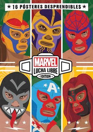 Marvel lucha libre / Libro - póster