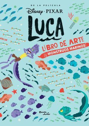 Luca. Libro de arte y monstruos marinos