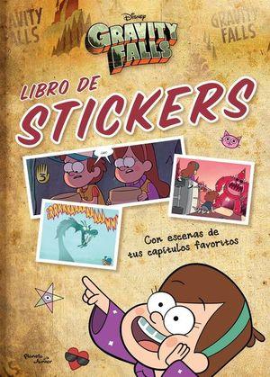 Gravity Falls. Libro de stickers