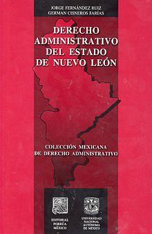 DERECHO ADMINISTRATIVO DEL ESTADO DE NUEVO LEON