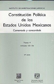 PAQ. CONSTITUCION POLITICA DE LOS ESTADOS UNIDOS MEXICANOS / 5 TOMOS / 20 ED.