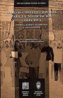 MARCOS CONSTITUCIONALES PARA LA NEGOCIACION COLECTIVA. AMERICA EUROPA OCCIDENTAL Y ASIA PACIFICO