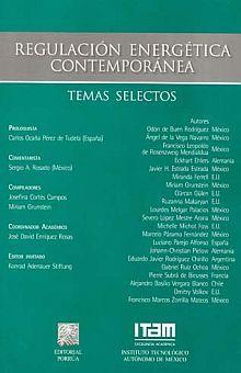 REGULACION ENERGETICA CONTEMPORANEA. TEMAS SELECTOS