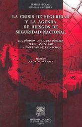CRISIS DE SEGURIDAD Y LA AGENDA DE RIESGOS DE SEGURIDAD, LA