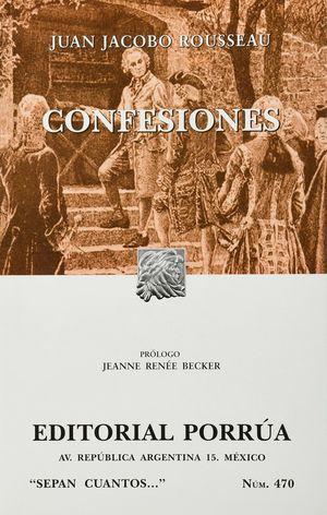 # 470. CONFESIONES