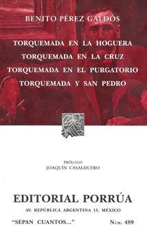 # 489. TORQUEMADA EN LA HOGUERA / TORQUEMADA EN LA CRUZ / TORQUIMADA EN EL PURGATORIO