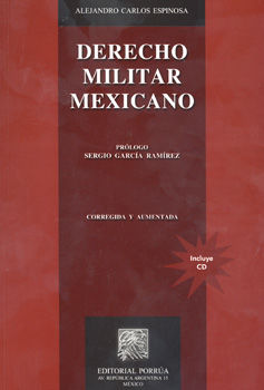 DERECHO MILITAR MEXICANO (INCLUYE CD)