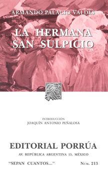 # 213. LA HERMANA SAN SULPICIO