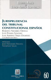 JURISPRUDENCIA DEL TRIBUNAL CONSTITUCIONAL ESPAÑOL