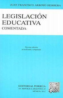 LEGISLACION EDUCATIVA COMENTADA