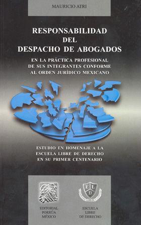 RESPONSABILIDAD DEL DESPACHO DE ABOGADO