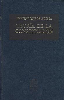 TEORIA DE LA CONSTITUCION / 5 ED. / PD.