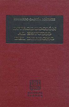 INTRODUCCION AL ESTUDIO DEL DERECHO / PD.