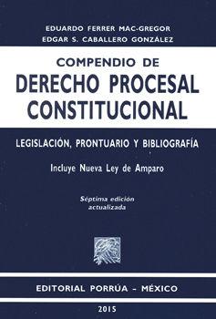 COMPENDIO DE DERECHO PROCESAL CONSTITUCIONAL / 7 ED.