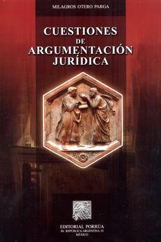 CUESTIONES DE ARGUMENTACION JURIDICA