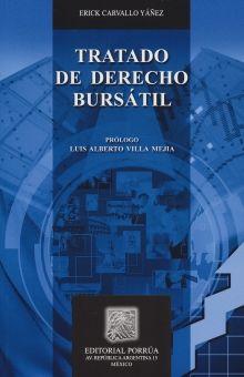 TRATADO DE DERECHO BURSATIL / 5 ED.